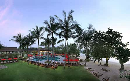 Prime beachfront location, Amari Palm Reef Resort, Koh Samui