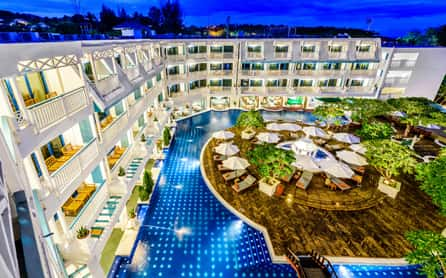 Andaman Seaview Hotel, Karon Beach, Phuket, Thailand