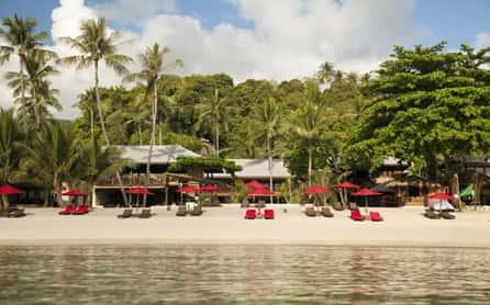 Tong Nai Pan Noi Beach, Anantara Rasananda, Koh Phangan, Thailand