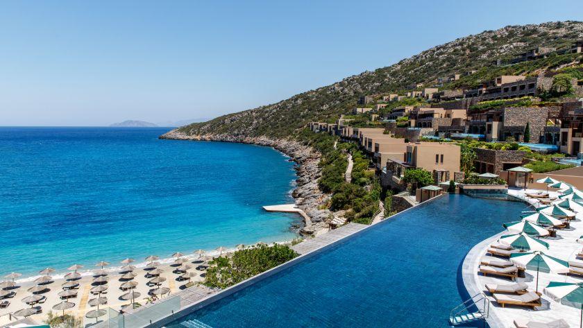 Reception, Daios Cove Luxury Resort & Villas, Crete