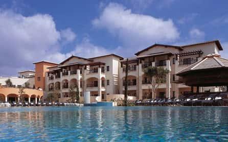Pool and Hotel View, Aphrodite Hills Resort, Paphos, Cyprus