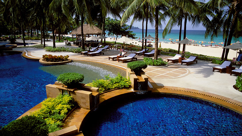 Kata Noi Beach, Katathani Phuket Beach Resort, Thailand