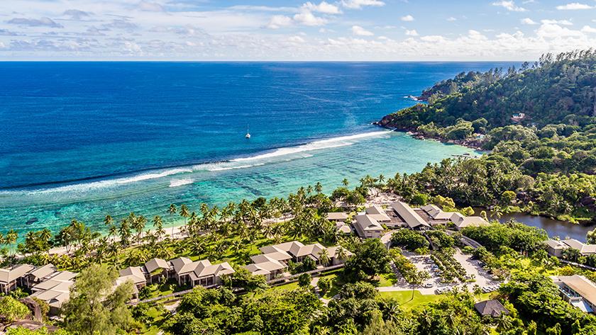 Beach, Kempinski Seychelles Resort, Mahe, The Seychelles