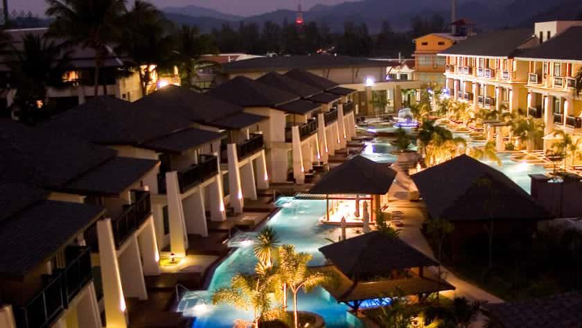 Hotel Grounds, La Flora Resort & Spa, Khao Lak, Thailand