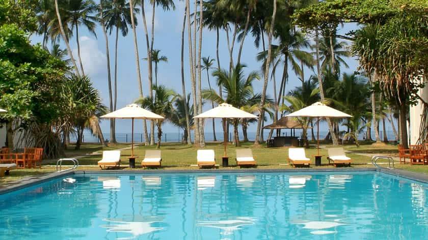 Main Swimming Pool, Mermaid Hotel and Club, Kalutara, Sri Lanka