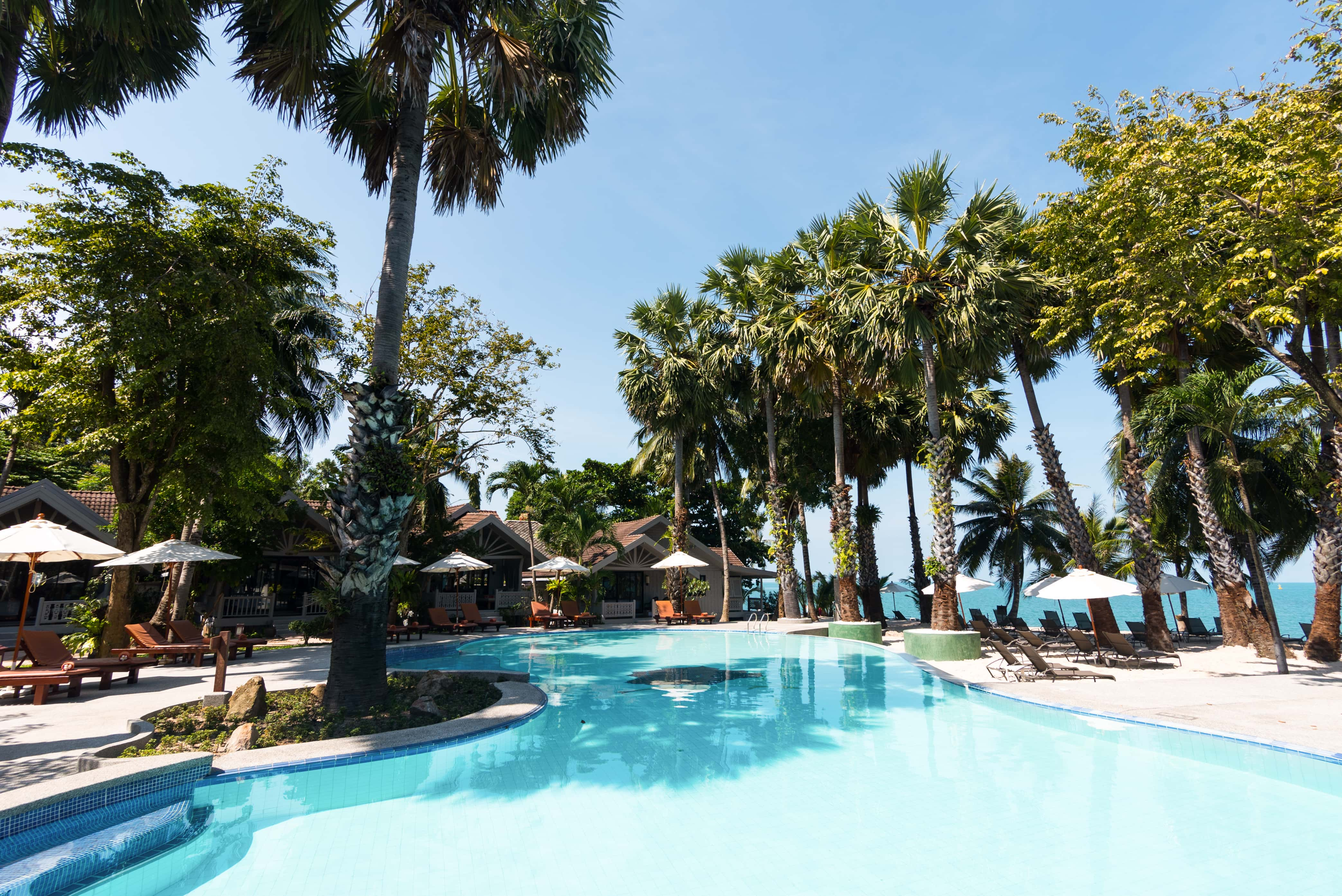 Paradise Beach Resort, Maenam Beach, Koh Samui, Thailand