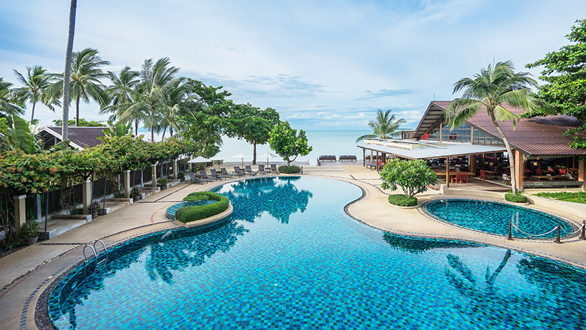 Bophut Beach, Peace Resort, Koh Samui