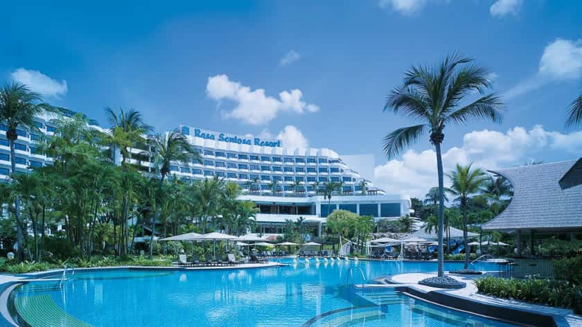 Singapore's premier beach resort !