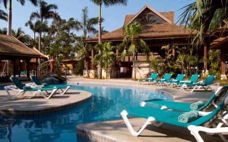 Sunset at the Palms Resort