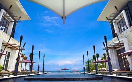 The luxurious The Chedi Sakala, Bali