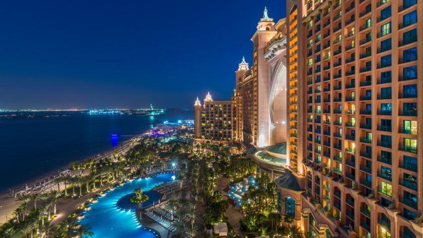 Lobby, Atlantis, The Palm, Dubai