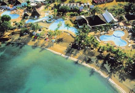 Aerial View of Club St.Lucia