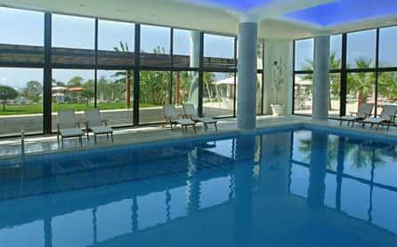 Indoor pool, Grecian Park Hotel, Cyprus