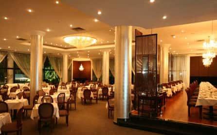 Antaeus Restaurant, Grecian Park Hotel, Cyprus