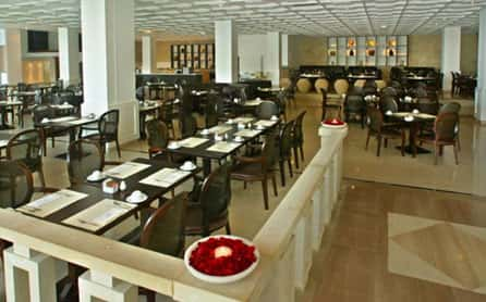 Cafe Charisma, Grecian Park Hotel, Cyprus