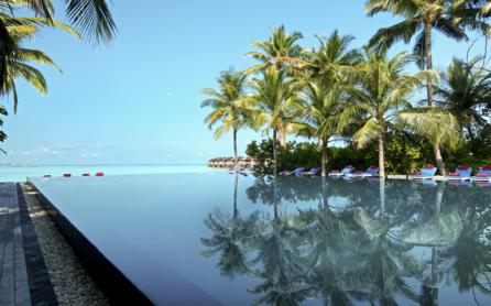 Sheer relaxation, The Sun Siyam Iru Fushi Beach & Spa Resort, The Maldives