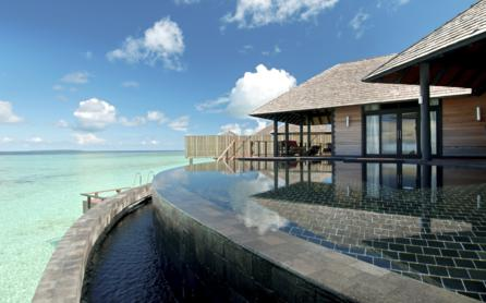 Villas and suites, Iru Fushi Beach & Spa Resort, The Maldives