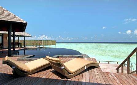 Aqua Retreat sundeck, The Sun Siyam Iru Fushi Beach & Spa Resort, The Maldives