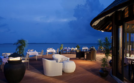 Flavours Restaurant, The Sun Siyam Iru Fushi Beach & Spa Resort, The Maldives