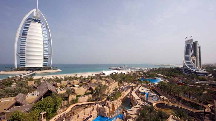 Jumeirah Beach Hotel and Burj Al Arab