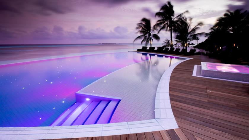 Sangu Pool, Kuredu Island Resort & Spa, The Maldives