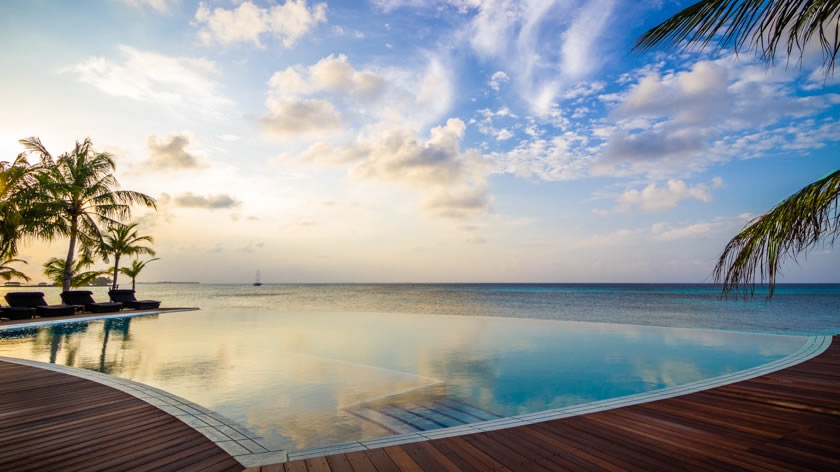 Sunset, Kuredu Island Resort, The Maldives