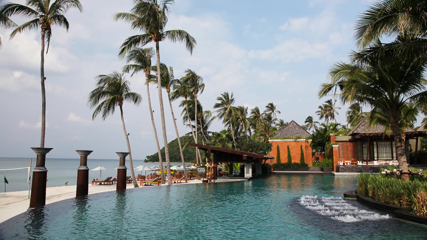 Superb pools, Mai Samui Resort & Spa, Thailand
