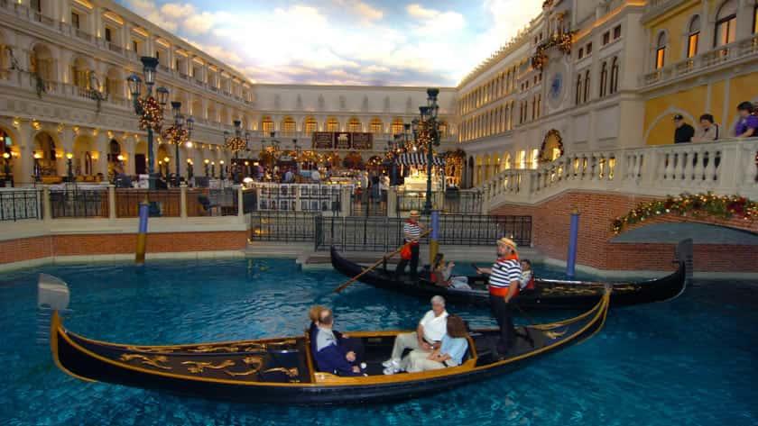 Venetian By Night, Venetian Resort Hotel & Casino, Las Vegas, USA