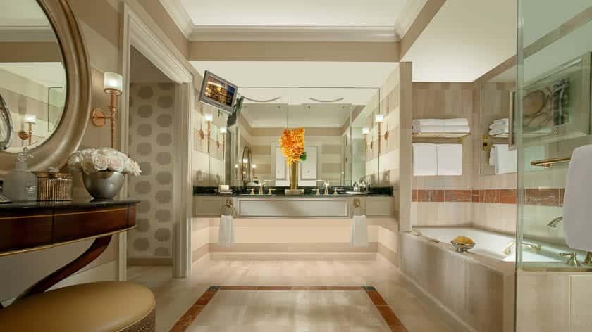 Luxury Suite Living Room, Venetian Resort Hotel & Casino, Las Vegas, USA