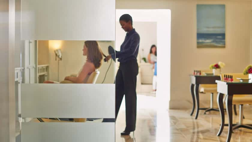 Four seasons resort palm beach for 4 star salon services