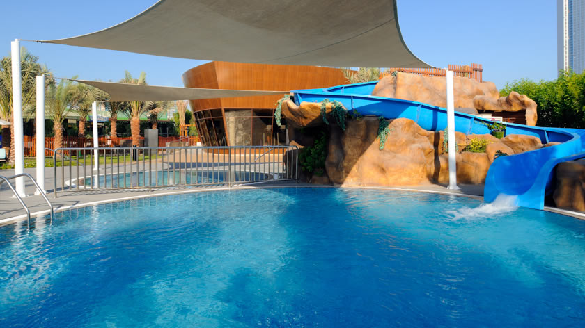 Intercontinental abu dhabi hotels in abu dhabi middle east holidays letsgo2 for Swimming pool offers in abu dhabi