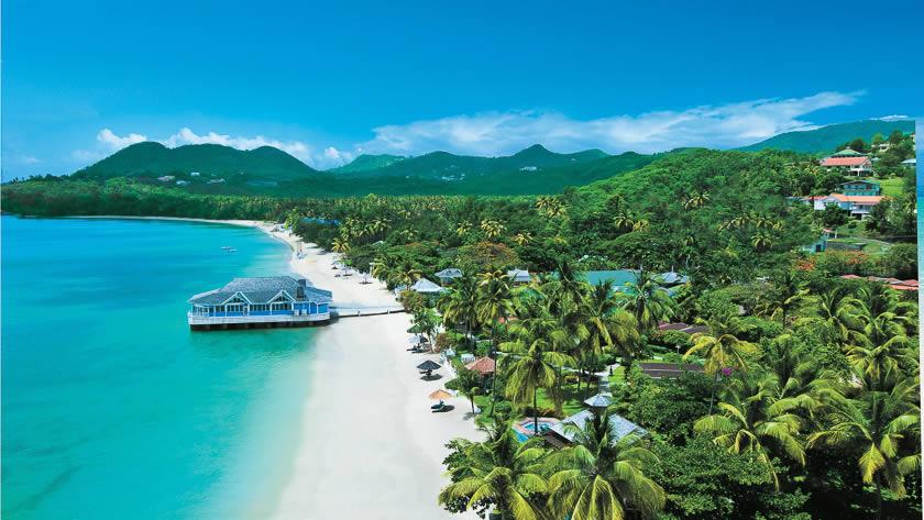 Sandals Halcyon Beach St.Lucia